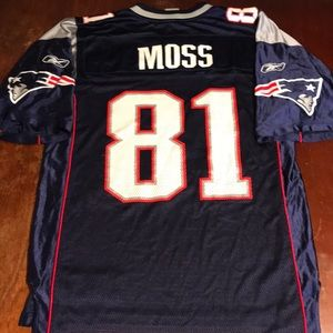 Randy Moss Patriots Reebok Football Jersey Medium